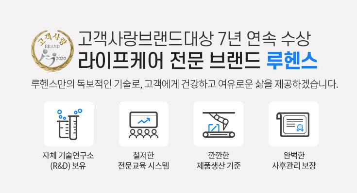 고객사랑브랜드대상 7년 연속 수상